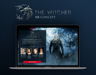 The Witcher Ui Concept