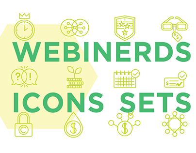 Big bundle of Webinerds icons