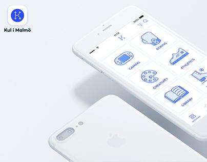 Kul i Malmö App . UI & UX Redesign