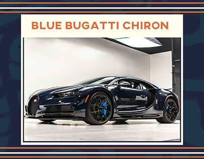 The Blue Bugatti Chiron