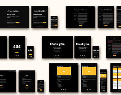 Web Design for FrontEnd30