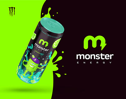 Monster Energy - Rebranding