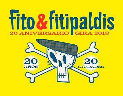 """Fito & Fitipaldis """"20 años 20 ciudades"""""""