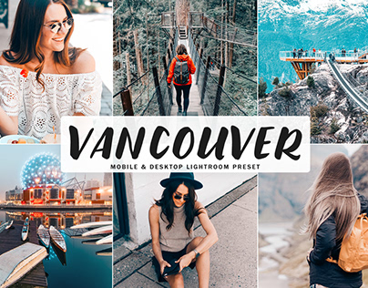 Free Vancouver Mobile & Desktop Lightroom Preset