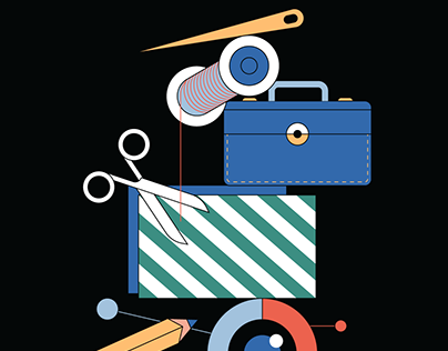 Fashion System No:4 Editorial Illustrations