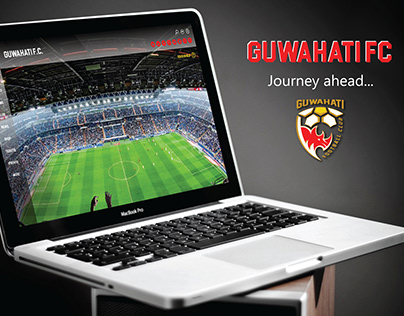 Website and Mascot Design for Guwahati FC