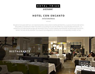 Hotel TRIAS / Website