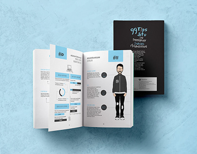"Book Design & Book Layout ""Freelancer Mahasiswa"""