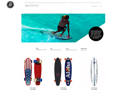 Restayling Site Surf