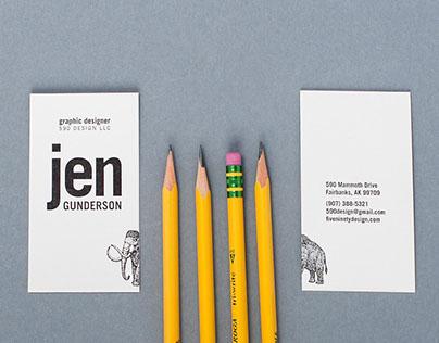 590 Design Business Card