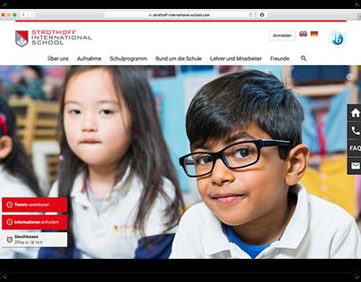 Concept and UI Design Strothoff International School