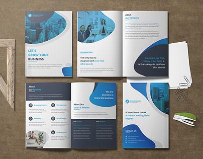 Corporate BI-Fold Brochure , Company Profile Design