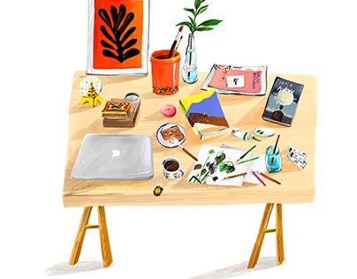 Travel Illustrations into Books