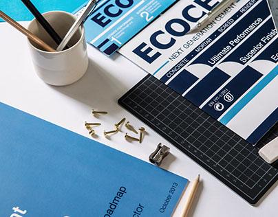 Ecocem - Commercial Graphic + Branding Design