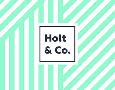 Holt & Co. Branding
