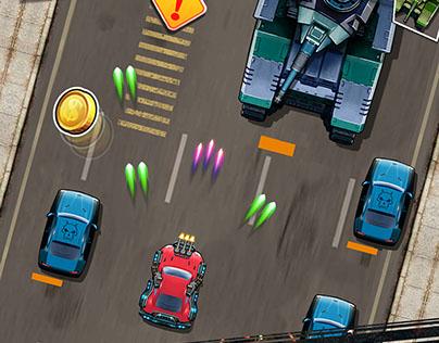 Game UX-UI Road Legends