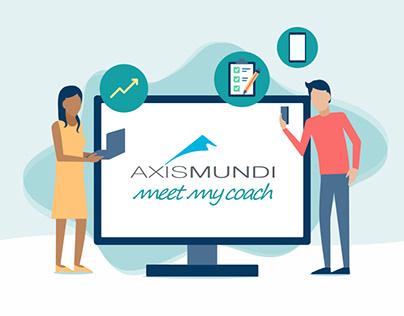 AxisMundi Meet my coach UX & UI
