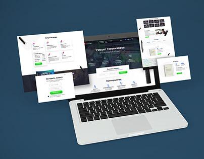 Landing Page fix-tv.ru