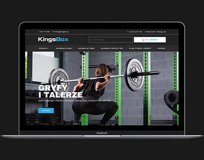 Kingsbox.pl - gym online shop
