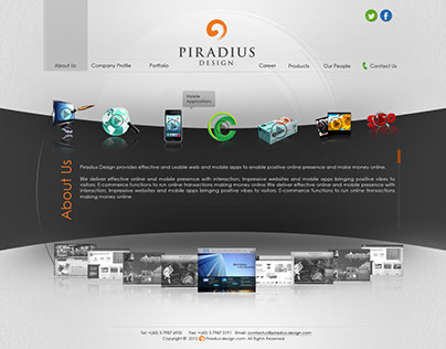 Piradius Official Website