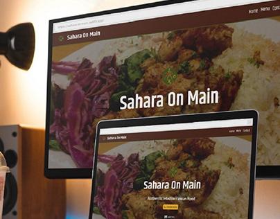 Sahara On Main | Website design/development