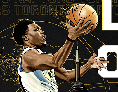 KYLE LOWRY - Illustration for NBA