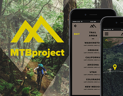 MTBproject Redesign & App