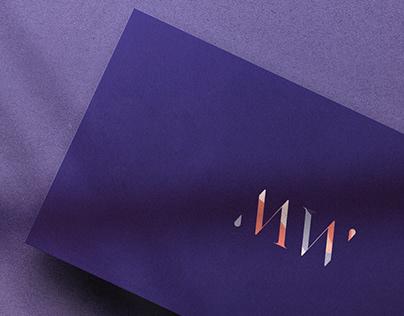 Modern Wallpaper Logo Development/ Brand Identity