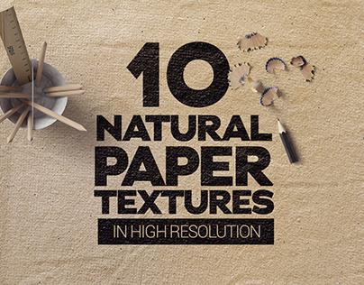 Natural Paper Textures x10
