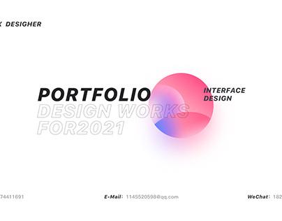 2021 UI/UI PORTFOLIO
