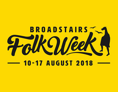 Broadstairs Folk Week brand & website