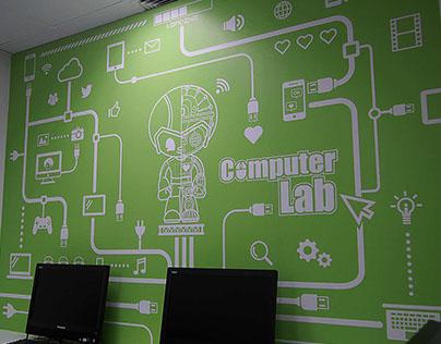 PC Lab Wall Art
