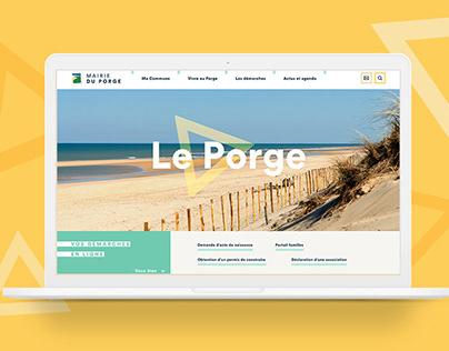 City of Le Porge website