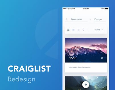 Craiglist redesign 2016