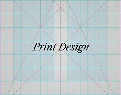 Print & Layout Design