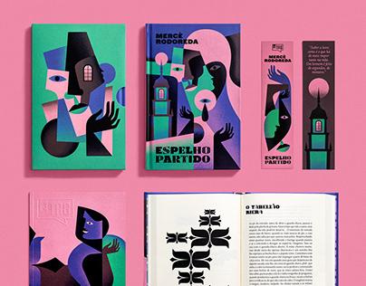 A Broken Mirror - book design & illustration