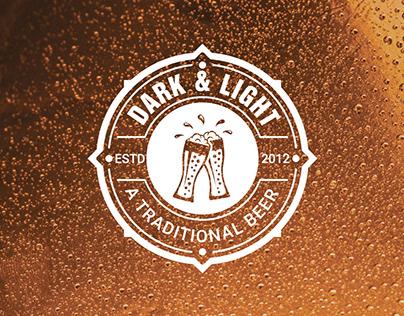 Beer retro vintage logo