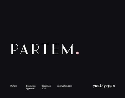 Partem Typeface — Free Demo