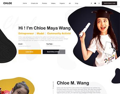 Social Communist Portfolio UI UX Web Design