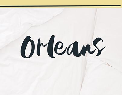 Orleans | Brush Font