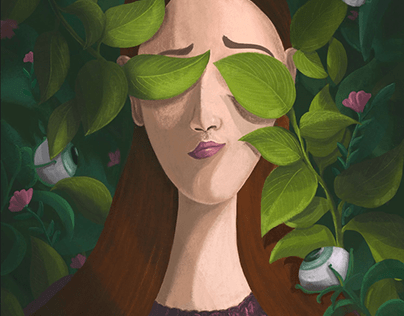 Editorial Illustration: How to cure Tree Blindness