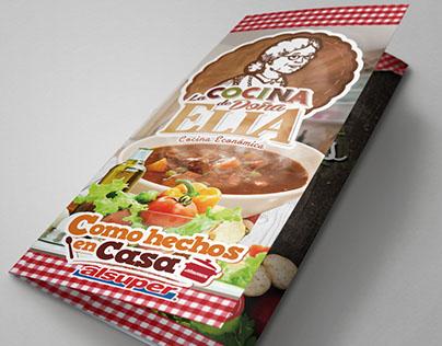 La cocina de Doña Elia trifold brochure