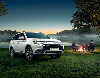 Mitsubishi Outlander new [Key Visual // 2018]