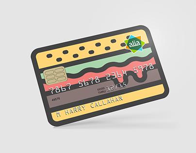 Alia / Credit card