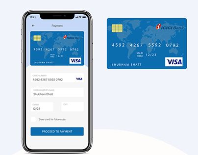 Credit Card Checkout - Daily UI