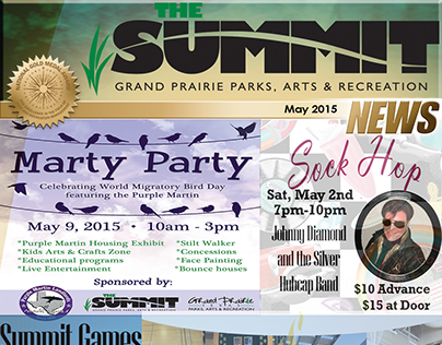 Summit Newsletter Cover - May 2015