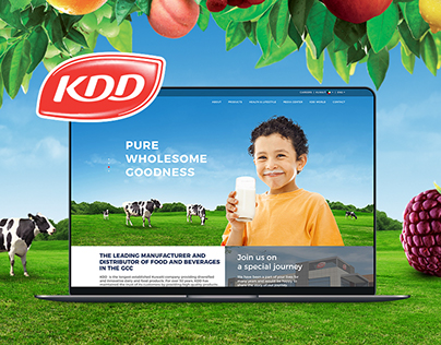 Kuwait Danish Dairy Corporate Website