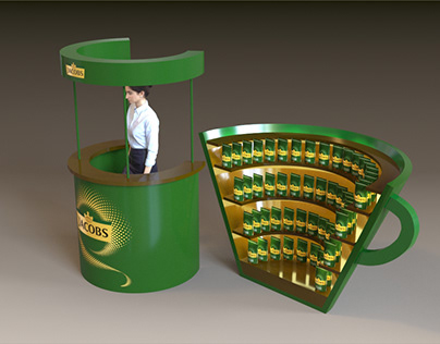 Display for coffee products