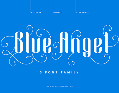 Blue Angel Typeface