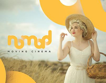 Nomad moving cinema | Branding